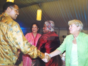 Karen w President Kikwete
