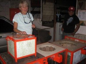 eco stove in nicaragua
